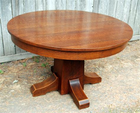 stickley dining room table voorhees craftsman mission oak furniture original l j