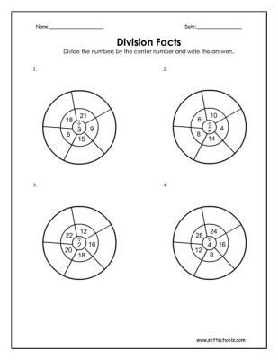 free printable division worksheets softschools division 187 basic division facts worksheet free math