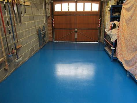 Painted Garage Floor ? How to Paint Your Garage Floor to