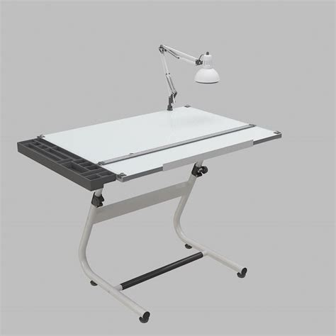 Drafting Table Support Drafting Table 3d Model