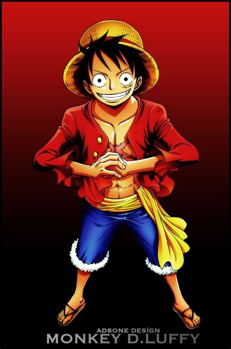 Kaos Annime One Monkey D Luffy one monkey d luffy 3 by adonis90 on deviantart one