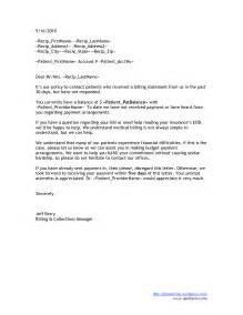10 best images of patient collection letter sample