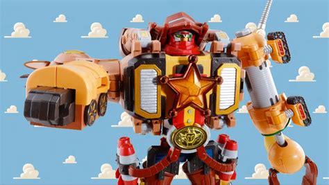 Robot Story 5 Toys Story Sheriff Woody chogokin story combination woody robo sheriff