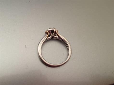so upset my ring looks now weddingbee