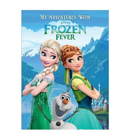 Frozen Fever Note Book personalised disney frozen fever book my gifts