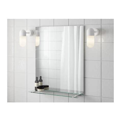 ikea bathroom mirror fullen mirror with shelf 50x60 cm ikea