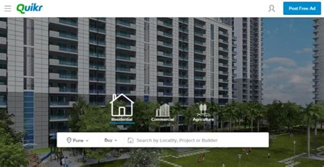 quikr launches real estate portal quikr homes delhi
