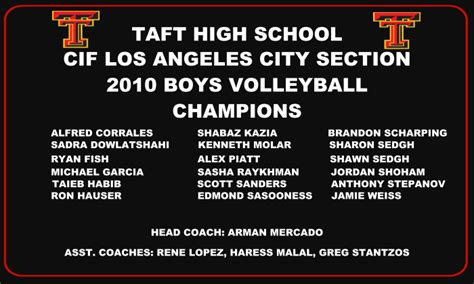 cif los angeles city section the legendary taft charter high school home