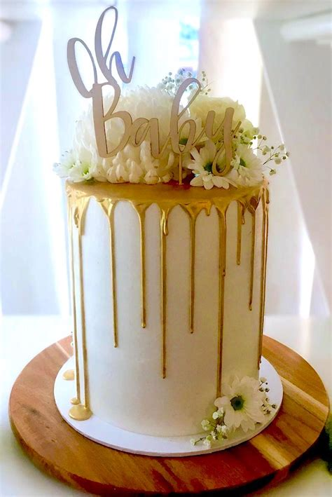 How To Make A Baby Shower Cake Out Of Diapers by How To Make A Drip Cake 50 Amazing Drizzle Cakes To Inspire You