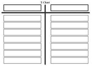 free printable t chart template download
