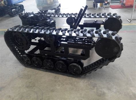 Kr01030 Unmanned Ground Vehicle Ugv Robot Car Chassis rubber tracks with sprocket rubber track chassis snowmobile rubber track things to make