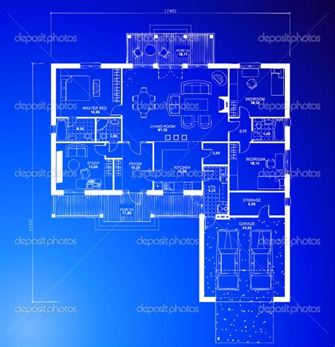 Blue Print Of House by 19 Stock Vector Blueprints Images Construction Paper