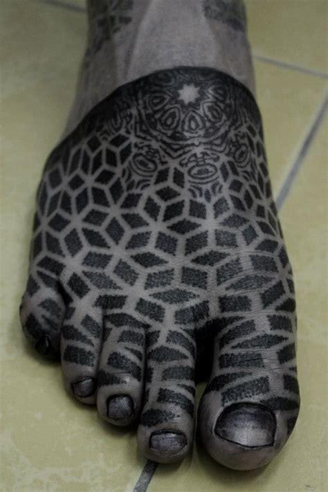 stippling tattoo kenji alucky stippling designed on foot