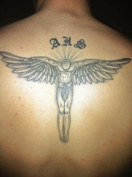 tattoo beckham engel alpha schutzengel tattoos von tattoo bewertung de