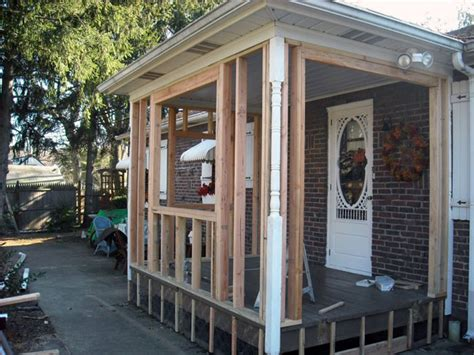 Enclose Porch enclosing a porch diy images