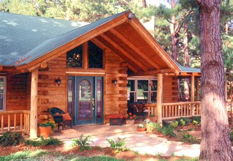 Log Home Front Doors Log Home Front Door Options 171 Real Log Style