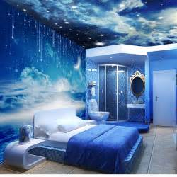 star ceiling mural wallpaper 3d stereoscopic personalized wallpaper wall mural fashion wallpaper peacock double wallpaper size custom made