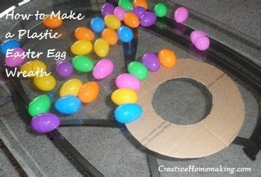 how to make an easter wreath with plastic eggs plastic eggs wreaths and eggs on