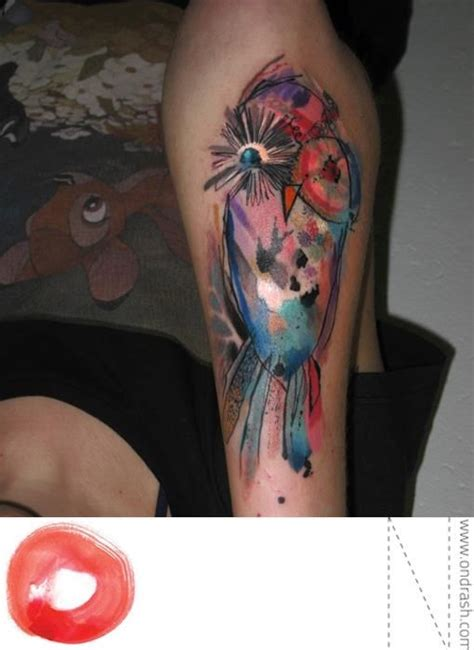 watercolor tattoos prague best 25 watercolor owl tattoos ideas on owl