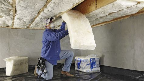 how to insulate a crawl space ceiling install crawl space or basement insulation