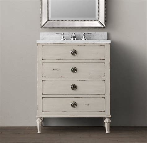Restoration Hardware Maison Vanity by 1000 Images About Powder Room Vanity On Glass