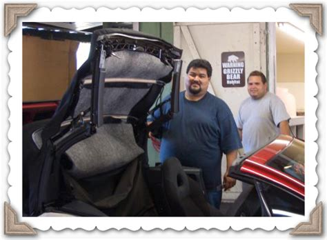 jesus auto upholstery take the pe 241 a brothers shop tour automotive upholstery
