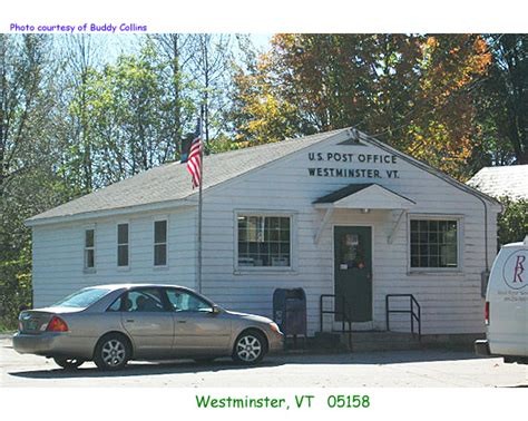 Westminster Post Office Hours by Vermont Post Offices