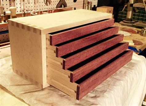 wooden tool box drawers hand crafted drawergasm