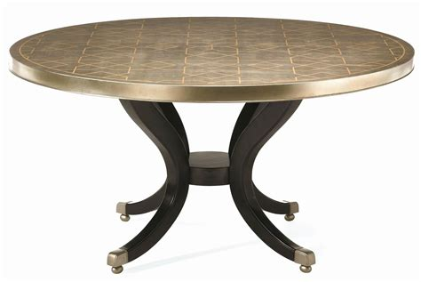 pedestal table with leaf 60 inch round dining table vendome round formal dining