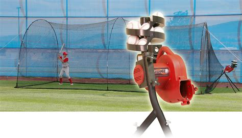 perfect swing batting cages heater power alley baseball batting cage and base hit
