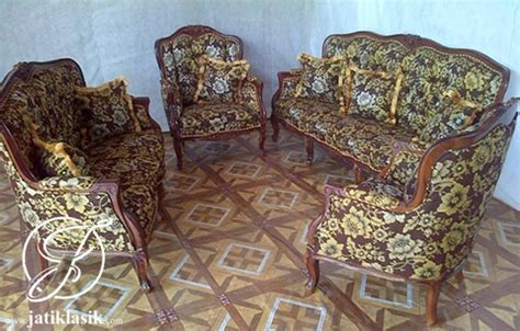 Jual Kursi Sofa Kecil jual kursi sofa tamu monako kecil jati klasik