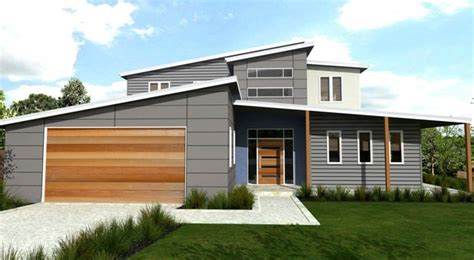 skillion house designs skillion roof split level house facade pinterest search and facades