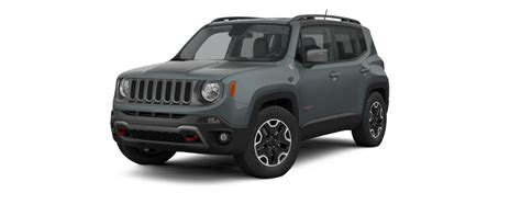 small jeep 2017 comparing the 2017 jeep renegade models with table