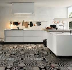 black white kitchen tiles mad about cement tiles