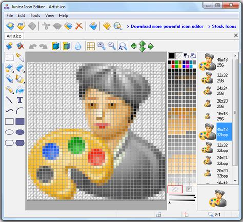 x edit layout editor software icon maker software for pc to design your own windows