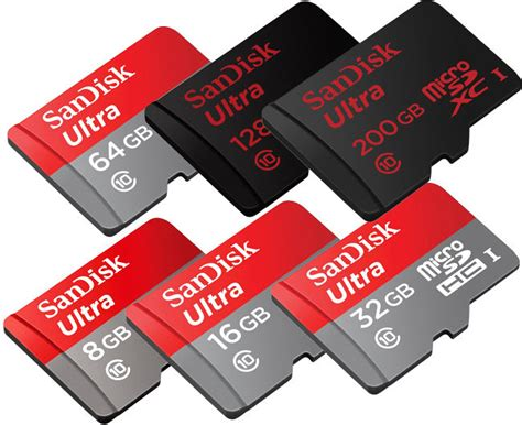 Micro Sd Sandisk Ultra sandisk ultra class10 micro sd sdhc sdxc 200gb 128gb 64gb 32gb 16gb 8gb lot us ebay