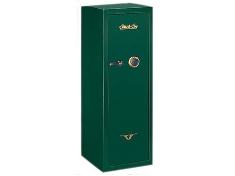 stack on security plus safe 16 gun combination lock green
