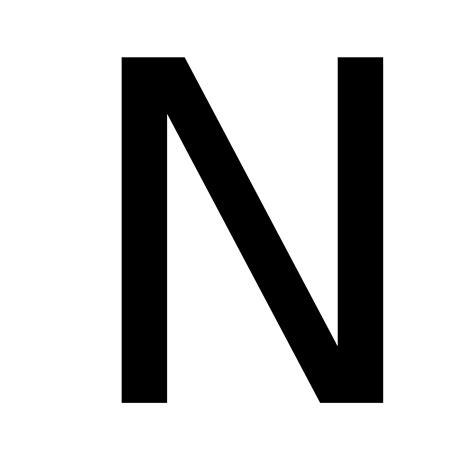 Letter N Images n wiktionary