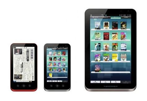 ereader for android sharp galapagos android ereader tablet