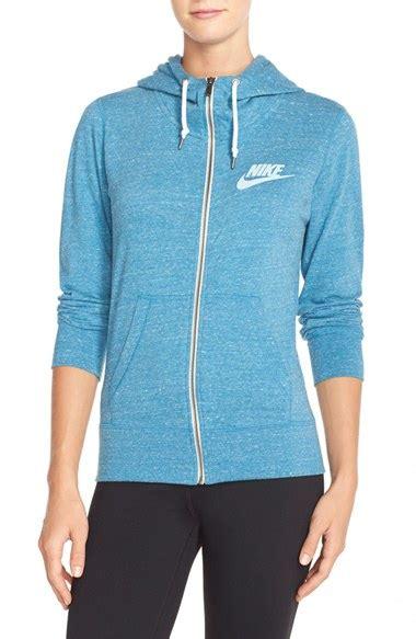jaket jacket nike sweater hoodie basic classic zipper original bla nike vintage zip front hoodie in blue stratus blue