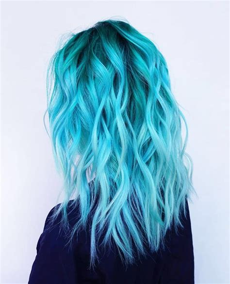 pretty hair color blue color hairstyles hair