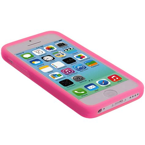 Apple Iphone 5c Soft Jelly Gel Silicon Silikon Tpu Casing for apple iphone 5c color silicone rubber soft gel skin cover accessory ebay