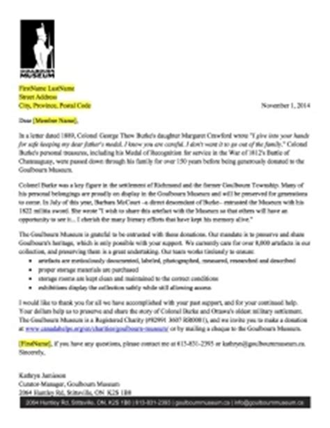 Fundraising Appeal Letter Exles What S In My Mailbox Free Template To Help You Raise More With Direct Mail Grow