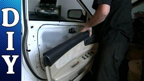 remove  replace  door panel  door handle
