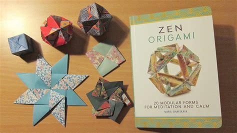 Origami Modular Book - review zen origami by sinayskaya spark origami