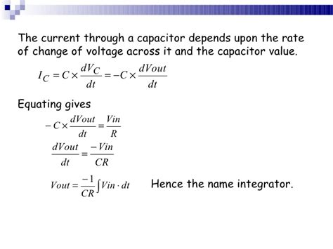 the current through a capacitor can change instantaneously voltage across capacitor cannot change instantaneously 28 images chapter 9 capacitors ppt