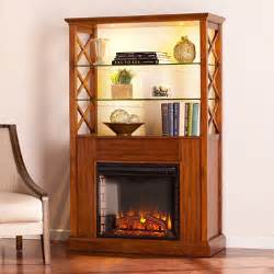 Curio Cabinet With Electric Fireplace Elkhorn Electric Fireplace Curio Cabinet Sam S Club