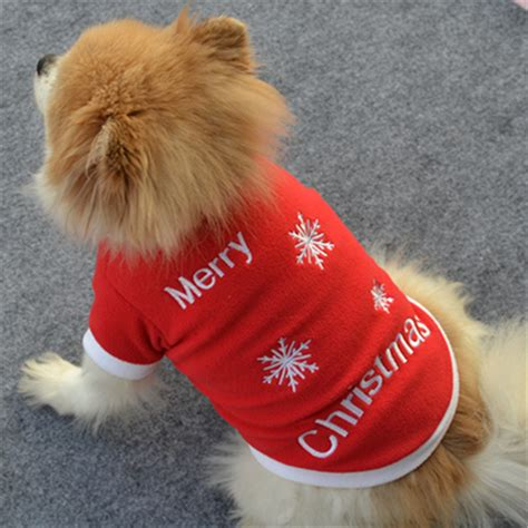 new year factory price pet clothes outwear coat