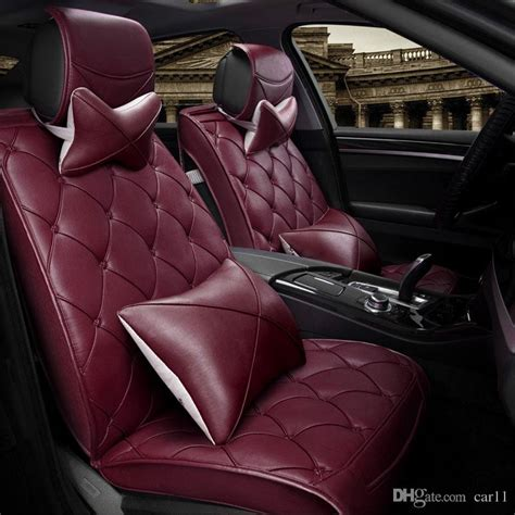 universal auto upholstery luxury leather car cushion have pillows universal for
