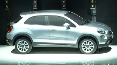 fiat 500x crossover teased jeep version to follow